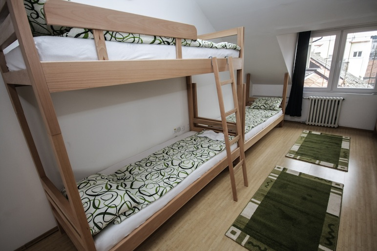 Hostel Terasa, Novi Sad, Serbia, Dorm room 3