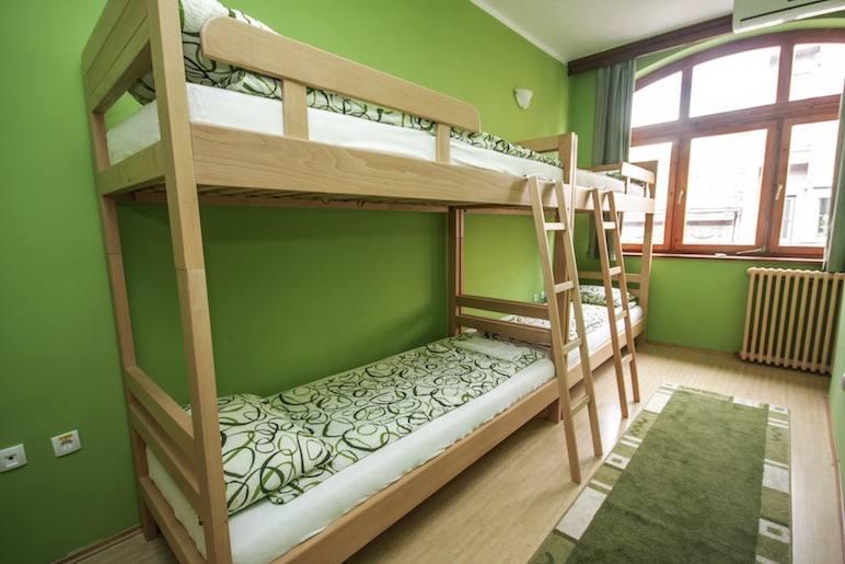 Hostel Terasa, Novi Sad, Serbia, Dorm room 5