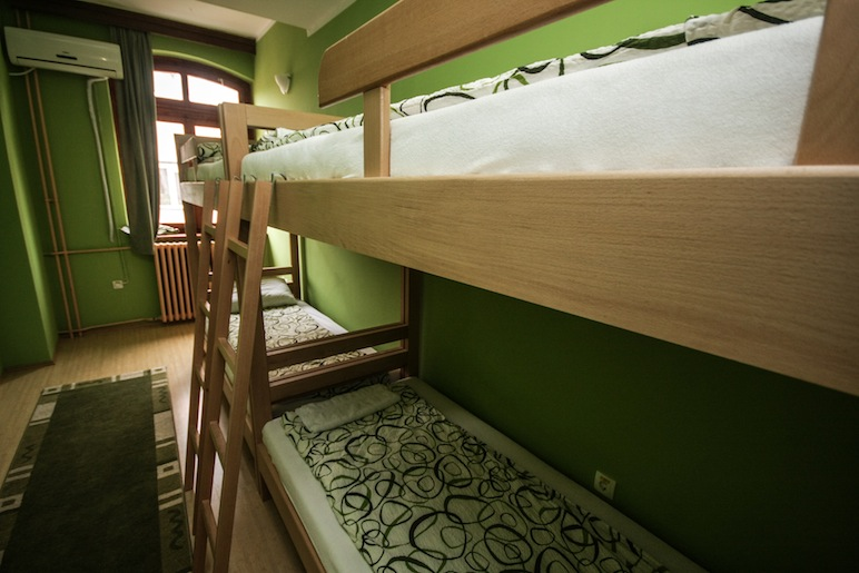 Hostel Terasa, Novi Sad, Serbia, Dorm room 7