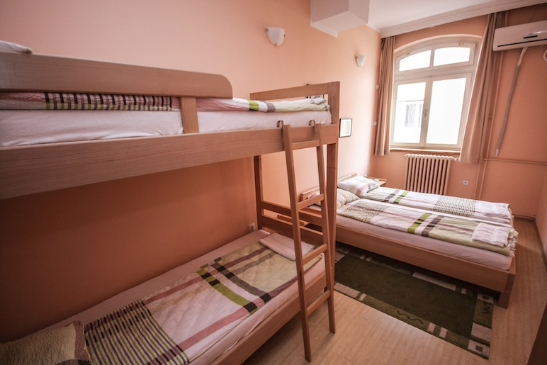 Hostel Terasa, Novi Sad, Serbia, Dorm room 8